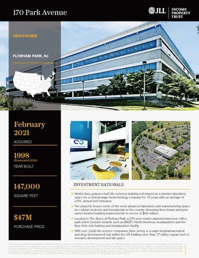 170 Park Avenue 022421 Cover