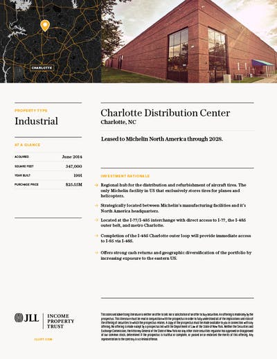 Property Profile Charlotte Distribution2 2