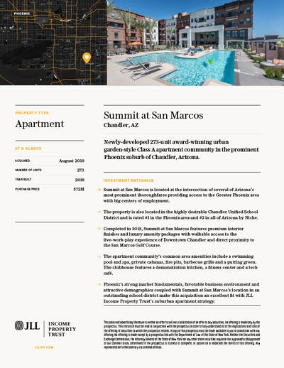 Property Profile Summit San Marcos 1