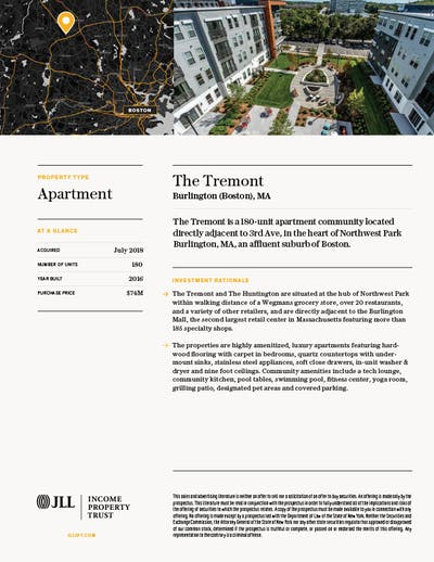 Property Profile Tremont1 1