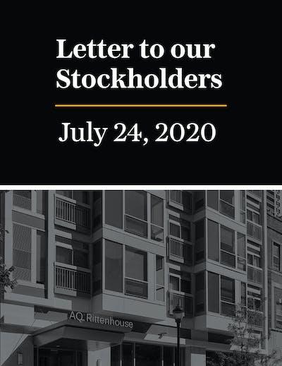 Stockholder Letter July 2020 01