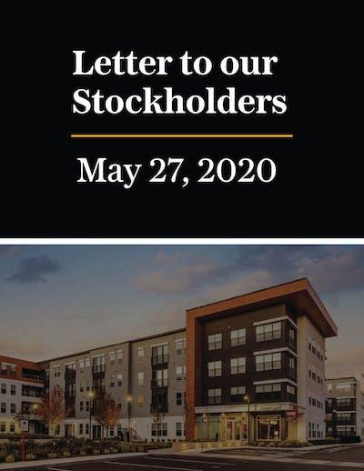Stockholder Letter May 2020 01