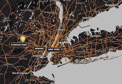 170 Park Avenue Map