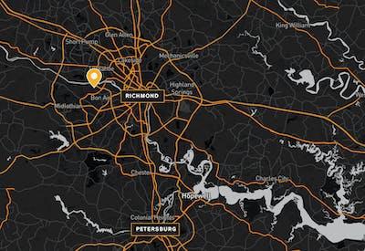 9101 Stony Point Drive Map 2 01