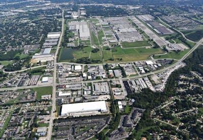Louisville Airport Distribution Center Aerial 062321
