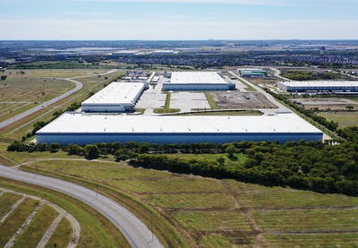 Fort Worth Distribution Center Map Aerial