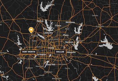 Fort Worth Distribution Center Map 01