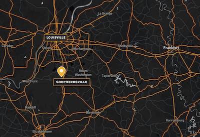Louisville Distribution Center Map 01