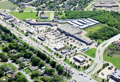 Oak Grove Plaza Aerial 2