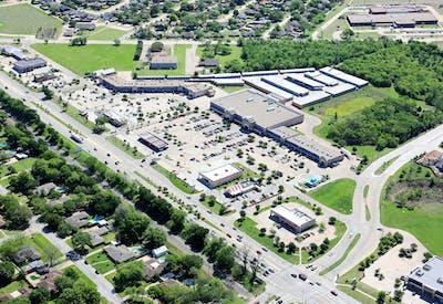 Oak Grove Plaza Aerial 2