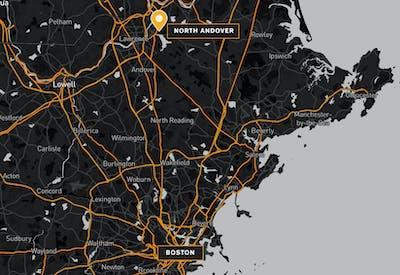 Princeton North Andover Property Profile Map 01