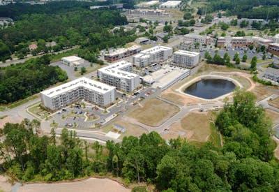 Siena Suwanee Town Center Aerial