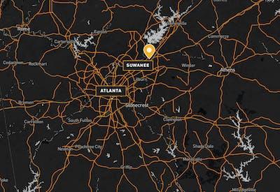 Siena Suwanee Town Center Map 01
