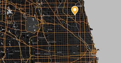 Map Skokie
