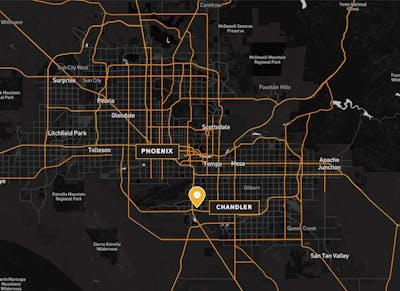 South East Phoenix Distribution Map v2