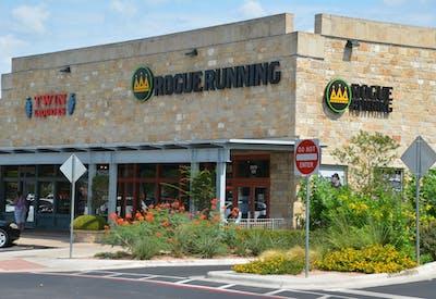 Rogue Running Twin Liquor Storefront